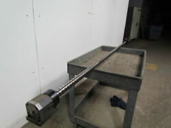 Amada 50 Ton Turret Press Ball Screw And Nut W/pulley And End Bearings