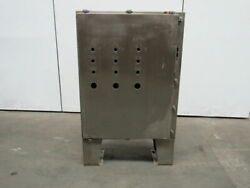 Free Standing Stainless Steel Electrical Enclosure 48x37x12 W/back Plate