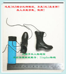 Boots For Did 80146 German Army Paratrooper Green Devil Schmelin 1/6 Scale 12''