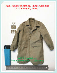 Coat And Chapter For Did 80146 German Army Paratrooper Green Devil Schmelin 12''