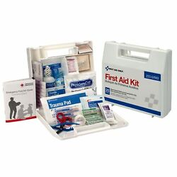 First Aid Only 25 People Wall Mount Plastic Case First Aid Kit 1 Each