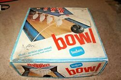 Vintage Bowling Game In Box 1970's - Tudor Games - Bowl - Read