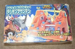 Rare Vintage Bandai Digimon Magnetic Marble Game W/ Box Excellent Super Cool