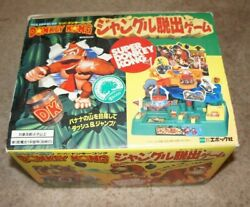 Rare Vintage Super Donkey Kong Battery Powered Marble Game From Japan Tested Toy