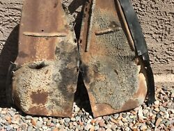 1958 1959 1960 Thunderbird Front Mud Shields Behind The Front Wheels