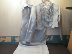 ADRIANNA PAPELL OCCASIONS Women#x27;s Long Formal and Jacket Combo Size 8 $32.00