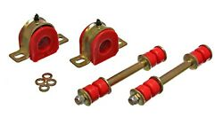 82-04 S10 2wd Blazer Suspension Front Sway Bar Bushings W/ End Links 1 1/8 Red