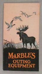 Marble's Arms Catalog - 1929 Knives, Camping, Hunting, Firearms, Marbles