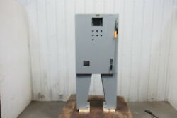 Hoffman Free Standing 36x26x8 30a Fused Electrical Enclosure W/backplate