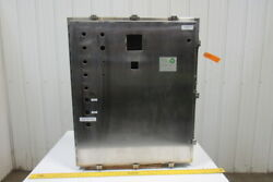 Austin Stainless Steel Electrical Enclosure 36x30x10 W/backplate