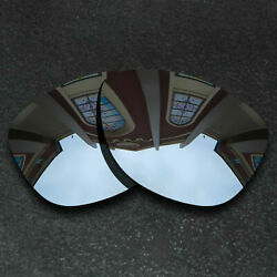 Silver Replacement Lenses For Oakley Frogskins Sunglasses Frame Polarized $8.58