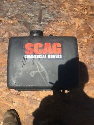 """Scag Walk Behind Mower Gas Tank Fuel Tank 462375 With Bolts 48"""""""