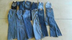 Awesome Lot Of 61 Pairs Of Jeans Diesel, , True Religion, Gap, Tons More