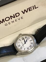 Raymond Weil Menandrsquos Luxury Watch Tradition White Dial Saphire Crystal 5678 Swiss