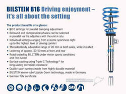 Bilstein B16 Pss10 For 15-17 Mercedes-benz C300 4matic L4 Front And Rear Perfo