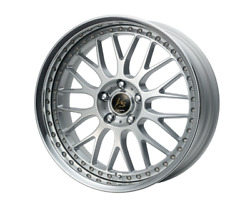 Work Vs-xx 19x8.5j/9.5j +45/+45 Burning Silver Set Of 4 For Lexus Is From Japan