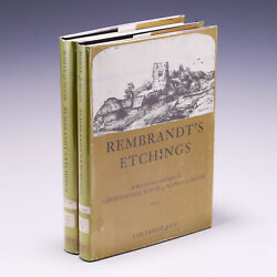 Rembrandtand039s Etchings An Illustrated Critical Catalogue By Christopher White