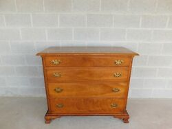 L And J G Stickley Cherry Valley Chippendale Style Chest