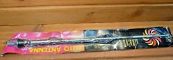 Nos Auto Antenna Universal Swivel Ball Spring Mount Snaps Back Extends To 48