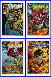 Spawn Set Of 4 7 8 11 19 Image 1993 And 1994 1st Printing Nm++ Comic Books