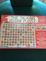 Sealed Rare The Talking Jigsaw Puzzle The Office Building Work Theme 2 Sided