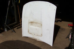 2002 And Other Years And Models Ford Mustang Gt White Hood No/scoop Oem Used