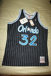 Mens Mitchell And Ness Shaquille O'neal Orlando Magic Swingman Jersey Xl Nwt