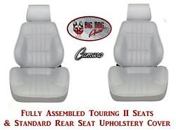 1977-78 Camaro Seats Standard Touring Ii Fully Assembled And Rear Seat Upholstery