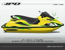 Ipd Jet Ski Graphic Kit For Sea Doo Spx And Xp Am Design