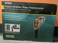 New Vir50 Extech Digital Infrared Video Thermometer 2.2 Lcd With Built-in Camera