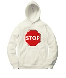 Red Driver Stop Sign Sweater Jacket Pullover Hoodie Winter