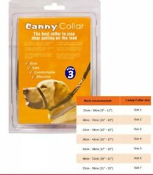Canny collar Dog Harness Collar Lead Adjustable Non Pull Puppy EasyWalk size 3