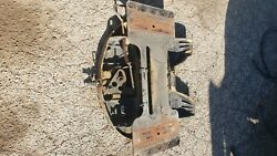 Fifth Wheel Hitch For A Tractor Trailer Truckused Off A Mack Truck Single Axle