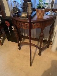 Classic Rosewood Walking Stick With Telescope