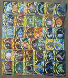 Pokemon Cards-topps Trading Cards Advanced Challenge Nearly Full Set Die-cuts