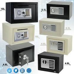 High Security Electronic Secure Digital Steel Safe Home Office Money Safety Box
