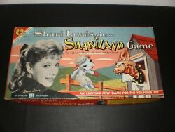 Shari Lewis In Shariland Game Transogram Games 1959 Excellent Vintage Condition