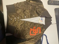 1980s Vintage San Deigo Padres Size 5 Youth Jacket In Need Of Funds For Family.