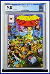 Armorines 3 Cgc Graded 9.8 Valiant September 1994 White Pages Comic Book