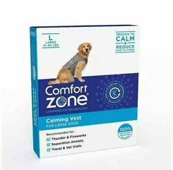 Comfort Zone Calming Vest for Dogs Large For Thunder and Anxiety amp; NEW $19.50
