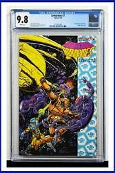 Armorines 7 Cgc Graded 9.8 Valiant January 1995 White Pages Comic Book