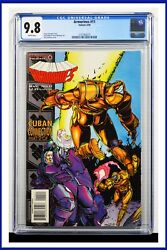 Armorines 11 Cgc Graded 9.8 Valiant May 1995 White Pages Comic Book