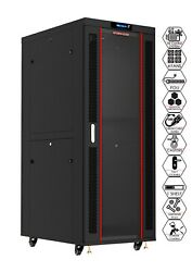 42u Rack Mount It Network Server Cabinet 1000mm 39and039and039 Deep