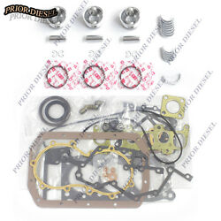 Mitsubishi K3m Engine Rebuilt Kit For Excavator And Cub Cadet Compact Tractor