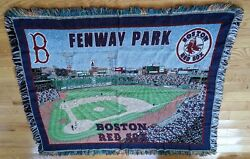 Boston Red Sox Fenway Park Tapestry Throw Blanket 48 X 60 Northwest Co.