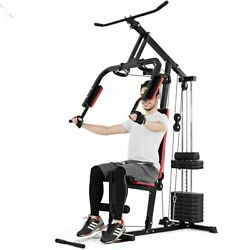 Home Gym Machine Workout Full Body Trainer Ab Arm Fitness Strength Training