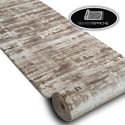 Modern Exclusive Very Thick Runner Dizayn Beige Width 100 47 3/16in Best