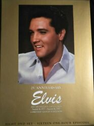 Elvis Presley Definitive Collection 8dvd Limited Gold Edition 25th Anniv Gc