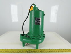 Myers Mw150-43 Submersible Sewage Pump 1-1/2hp 460v 3 Ph 2npt Discharge
