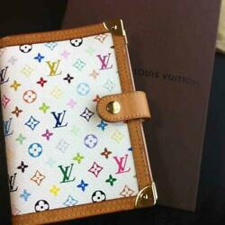 Louis Vuitton Notebook Cover Multicolor m219866143 Snap Pre-owned From Japan